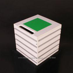 Лего-куб Вавилон для хранения лего минифигурок и деталей.