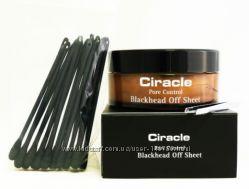Ciracle Pore control blackhead off sheet Очищающие салфетки от черных точек