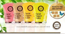 Happy Bath Yogurt Facial Foam Йогуртовые пенки для умывания
