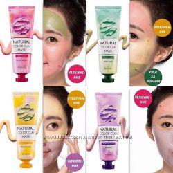 Missha Natural Color Clay Mask цветные глиняные маски