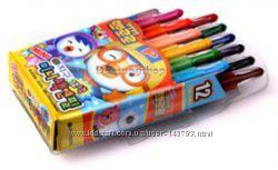 Pororo mini colored pencil 12 colors Крионовые Карандаши