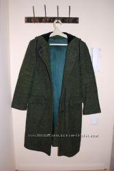 Пальто демисезонное зеленое ДАНА