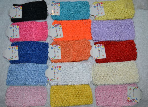 Повязки резинки, ажурные повязки