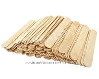 Шпатели деревянные для депиляции одноразовые