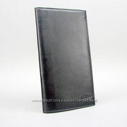 Кошелек купюрник мужской кожаный черный Bond Non 576-1