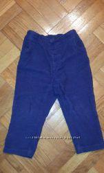 Вельветовые брюки Babu Club 86см