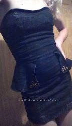 Новое брендовое мини-платье