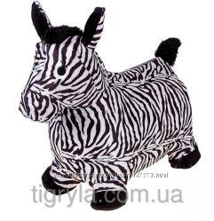 Надувные животные прыгуны - лошадки, коровки, ослики