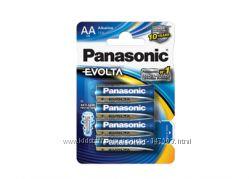 Батарейка Panasonic Evolta АА, ААА, 4шт.