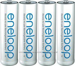 Panasonic Eneloop АА 2000 mah - аккумуляторные батарейки АА. Made in Japan