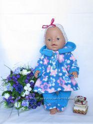 Флисовый комплект для куклы