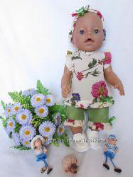 Комплект-тройка для куклы