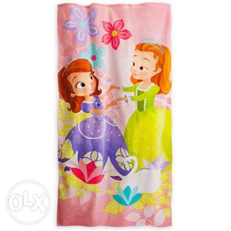Полотенце Велюровое Америка  Дисней Disney в Наличии Разные расцветки