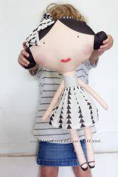 Текстильные куклы для увлекательной игры.