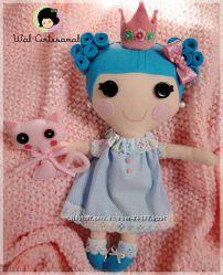 Куклы Лалалупси из ткани.