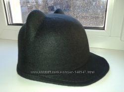 Фетровая кепка с ушками 57-58см