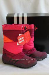 Зимние сапоги фирма Adidas размер 32-33 по стельке-21 см