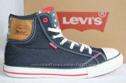 Стильные кеды фирма LEVIS, европейский размер 38 по стельке-25 см