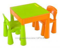 Столик и два стульчика Tega Baby Mamut. Все цвета.