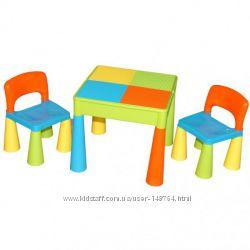 Столик и два стульчика Tega Baby Mamut. Все цвета. Скидки на пересылку НП
