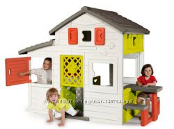 Большой дом с чердаком и звонком Friends House Smoby 310209
