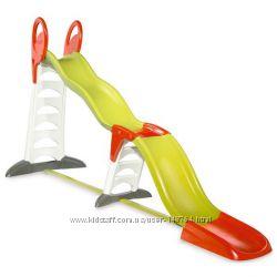 Детская Мега Горка 2 в 1 Smoby 310260 Megagliss, 375 см