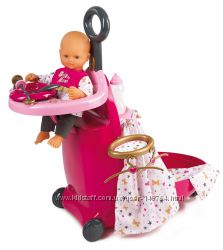 Набор для ухода за куклой раскладной чемодан Baby Nurse Smoby 220316.