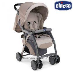Коляска прогулочная Chicco SimpliCity Top с сумкой, чехлом и дождевиком