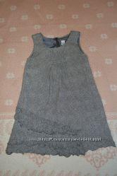 Платье Zara на девочку 7-8 лет