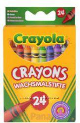 Восковые карандаши 24 шт. Crayola