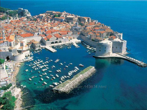 Великолепная Хорватия заворожит гостей красотой своих пейзажей
