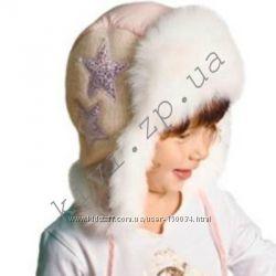 Распродажа зимних шапок для девочки DemboHouse, р. 46, 50