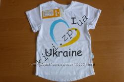 Акция - Модная футболка тм Бемби - Люблю Украину - р. 80, 110