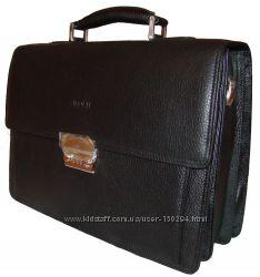 Уценка. Мужской портфель, натуральная кожа.