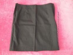 Классическая прямая юбка для беременной, деловой стиль, р-р 42-44