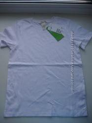 Новая белая футболка-готовимся к школе