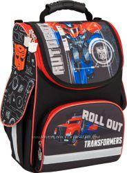 ТМ Kite серия Transformers школьные каркасные ранцы, пеналы, сумки