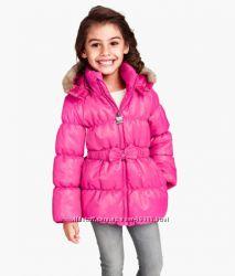 Продам куртку на флисе для девочки H&M  р. 122-128