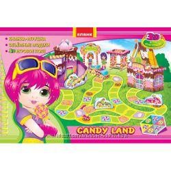 CANDY LAND 3D игра конструктор с объемными моделями из картона.
