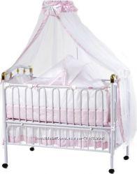 Детская металлическая кроватка Geoby