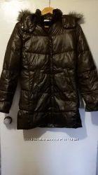 Пальто пуховое Columbia, зима, цена снижена