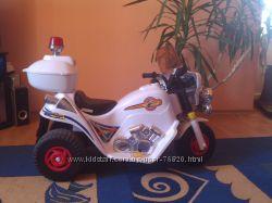 Полицейский мотоцикл грузоподъемность до 30 кг