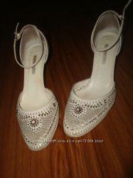 Итальянские туфли-босоножки Poletto р. 38