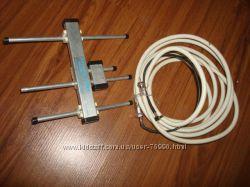 Антенна CDMA -усилитель с кабелем  для мобильного модема