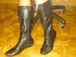 Сапоги кожаные Tamaris