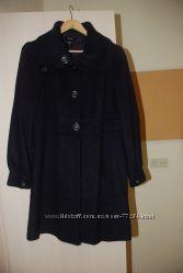пальто Манго черничное