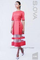 Шикарные платья производитель S. OVA новинки