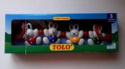 Подвеска-погремушка  кролик  ТМ Tolo