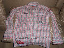 Рубашки на мальчика 8-9 лет