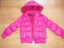 Куртка-пуховик на девочку р. 86-92
